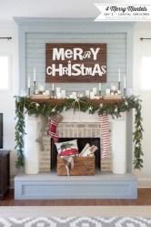 Inspiring halloween fireplace mantel ideas 36