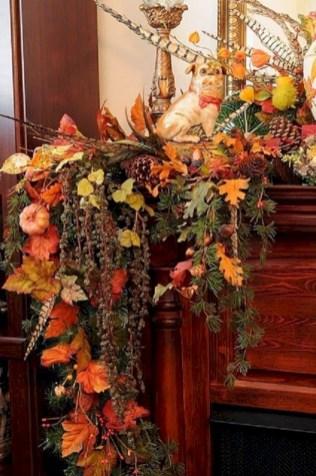 Inspiring halloween fireplace mantel ideas 53