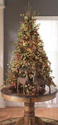 Inspiring indoor rustic christmas décoration ideas 38 38