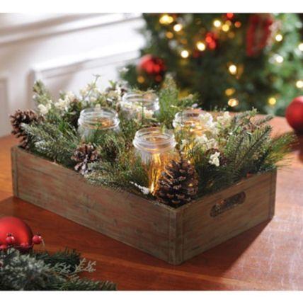 Inspiring indoor rustic christmas décoration ideas 44 44