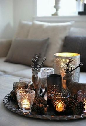 Inspiring indoor rustic christmas décoration ideas 45 45
