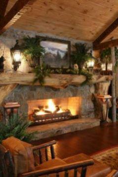 Inspiring indoor rustic christmas décoration ideas 5 5