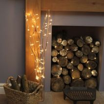 Inspiring indoor rustic christmas décoration ideas 8 8