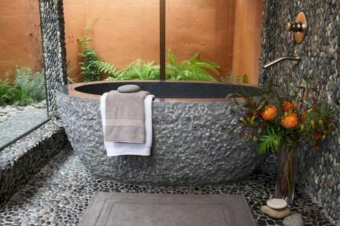 Mediterranean themed bathroom designs ideas 25