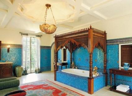 Mediterranean themed bathroom designs ideas 29