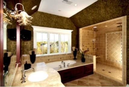 Mediterranean themed bathroom designs ideas 34