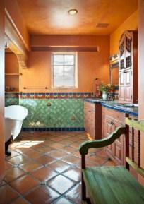 Mediterranean themed bathroom designs ideas 35