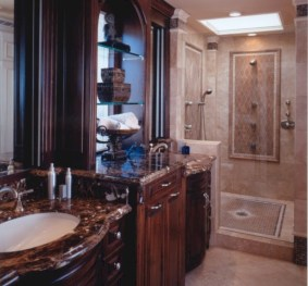 Mediterranean themed bathroom designs ideas 41