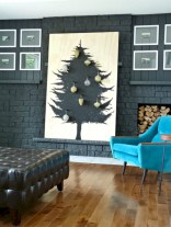 Minimalist and modern christmas tree décoration ideas 08