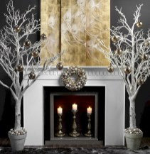 Minimalist and modern christmas tree décoration ideas 23