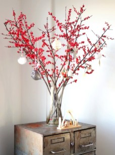 Minimalist and modern christmas tree décoration ideas 33