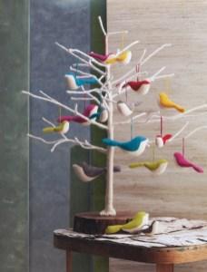 Minimalist and modern christmas tree décoration ideas 48