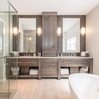 Modern bathroom remodel ideas you should try (43)