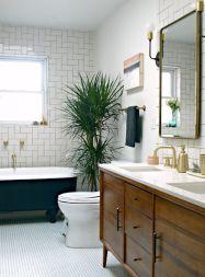 Modern bathroom remodel ideas you should try (47)