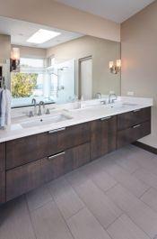 Modern bathroom with floating sink decor (11)