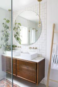 Modern bathroom with floating sink decor (21)