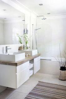Modern bathroom with floating sink decor (33)