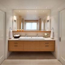 Modern bathroom with floating sink decor (37)