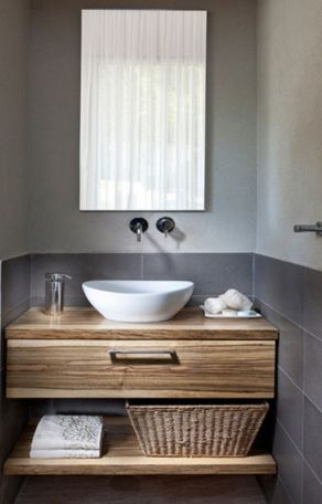 Modern bathroom with floating sink decor (38)