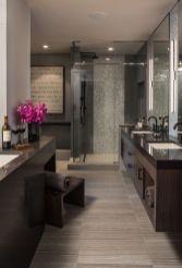 Modern bathroom with floating sink decor (43)