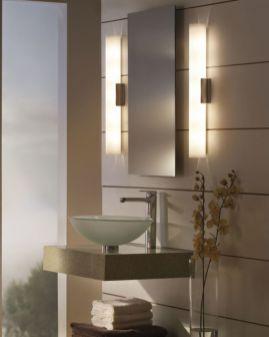 Modern bathroom with floating sink decor (5)