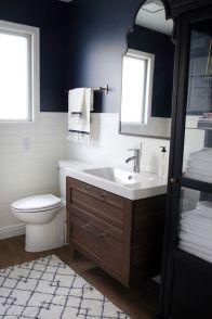 Modern bathroom with floating sink decor (6)