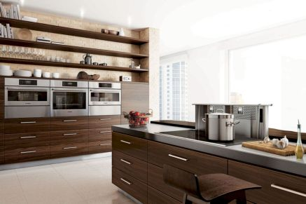 Modern condo kitchen designs ideas you will totally love 44