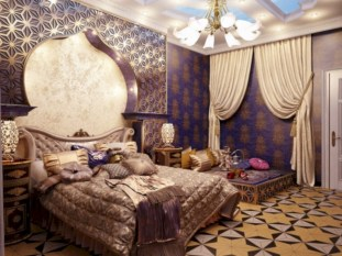 Moroccan themed bedroom design ideas 01