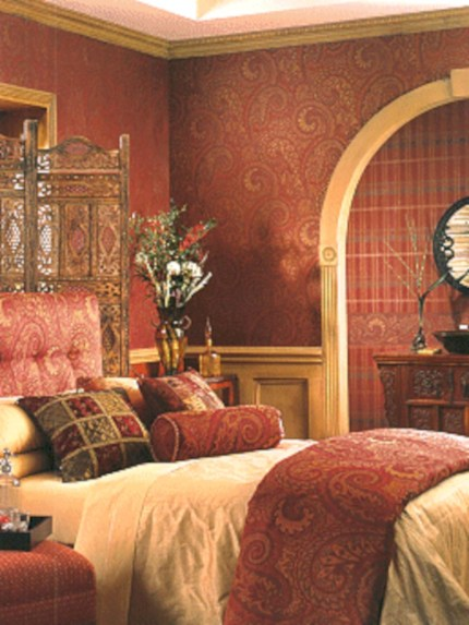 Moroccan themed bedroom design ideas 17