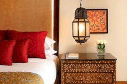 Moroccan themed bedroom design ideas 44