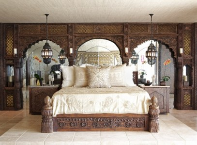 Moroccan themed bedroom design ideas 46