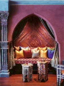 Moroccan themed bedroom design ideas 47