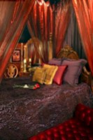 Moroccan themed bedroom design ideas 57