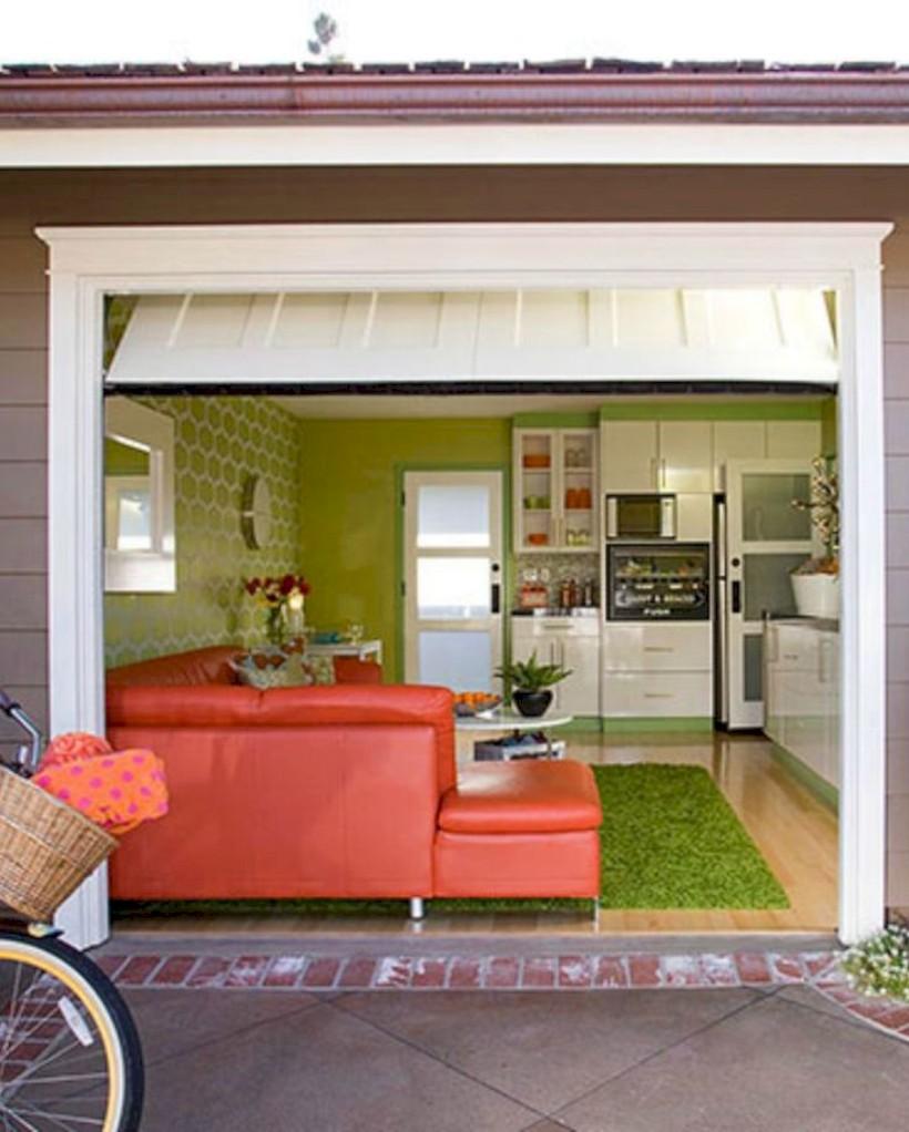 Neat and well-organized garage home decor ideas (33) - Round Decor