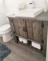 Paint colors farmhouse bathroom ideas (15)