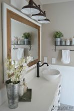Paint colors farmhouse bathroom ideas (16)