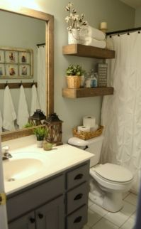 Paint colors farmhouse bathroom ideas (20)