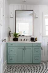 Paint colors farmhouse bathroom ideas (23)