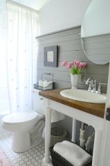 Paint colors farmhouse bathroom ideas (30)
