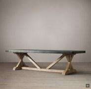 Rectangular folding outdoor dining tables design ideas 19