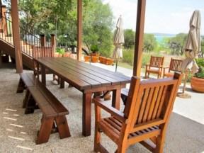 Rectangular folding outdoor dining tables design ideas 41