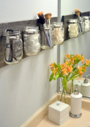 Rustic diy bathroom storage ideas (25)