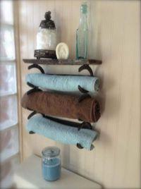 Rustic diy bathroom storage ideas (28)