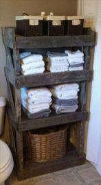 Rustic diy bathroom storage ideas (30)