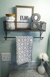 Rustic diy bathroom storage ideas (35)