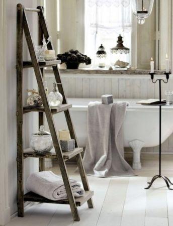 Rustic diy bathroom storage ideas (39)