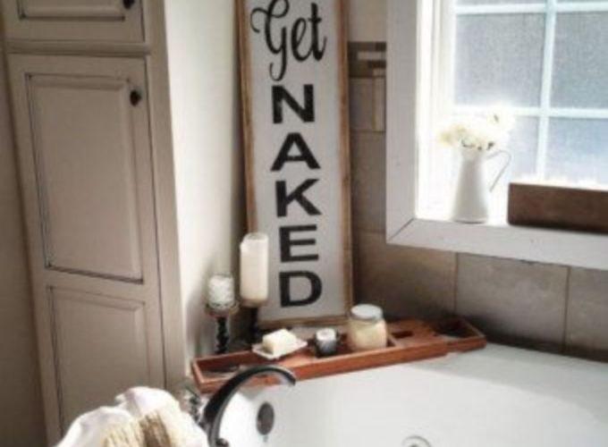 Rustic diy bathroom storage ideas (47)