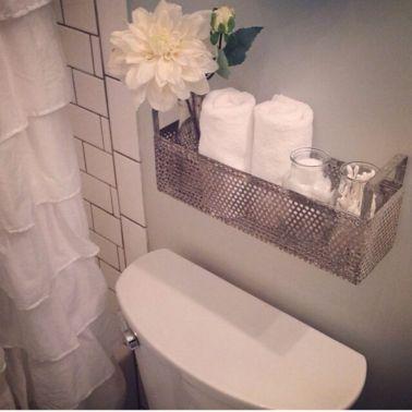 Rustic diy bathroom storage ideas (49)