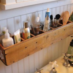 Rustic diy bathroom storage ideas (7)