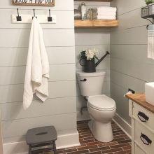Rustic farmhouse bathroom ideas you will love (1)